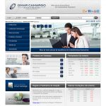 Web Site Corretora Omar Camargo . Curitiba
