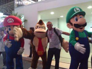 Campus Party e Mario Brothers