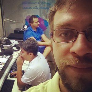 No Trabalho com Zico e Jhonny da Jovem Pan