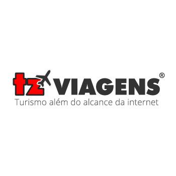 Logotipo TZ Viagens