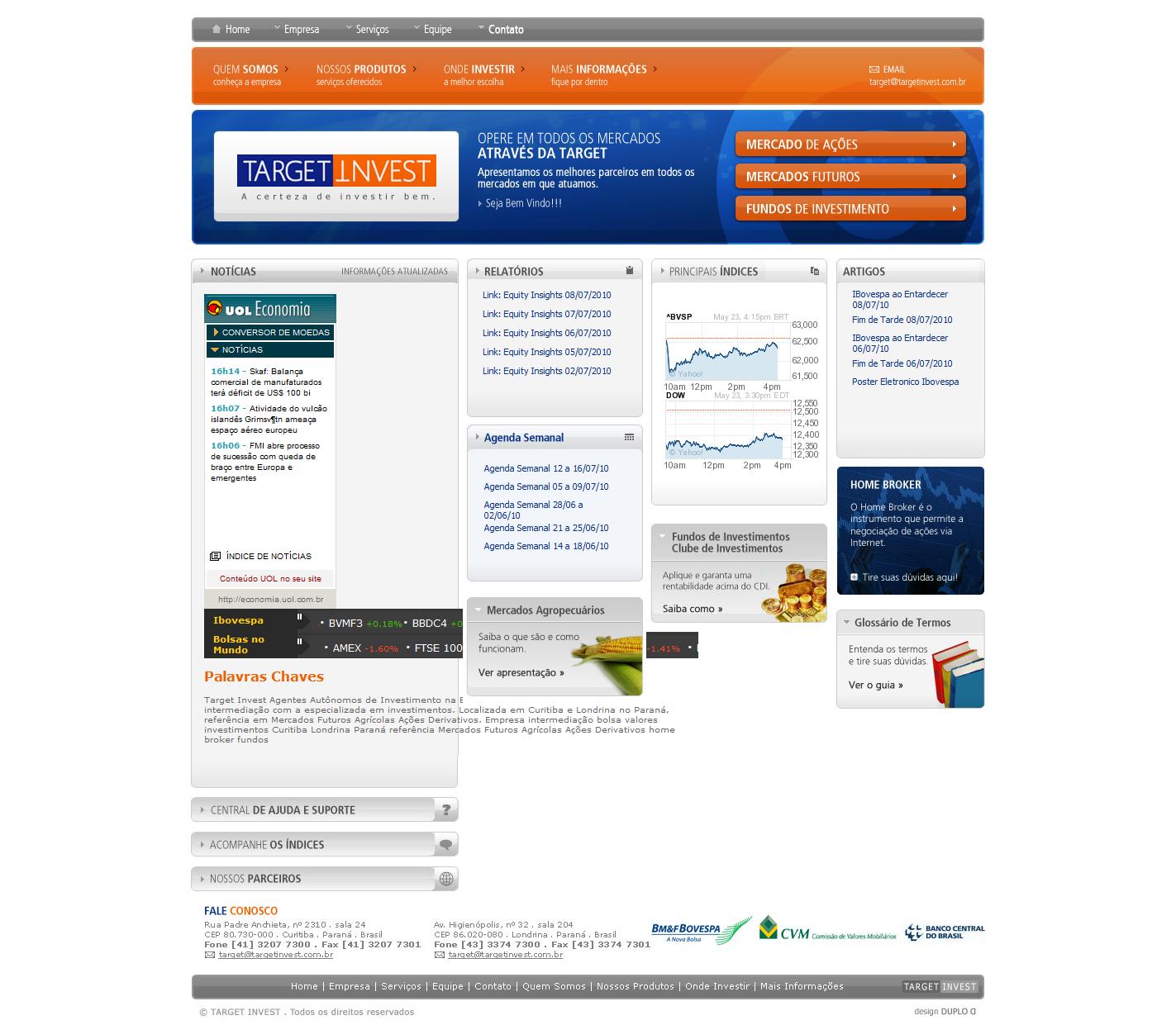 Target Invest Agentes Autônomos