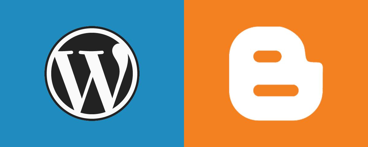 Wordpress ou Blogger, como criar um site grátis
