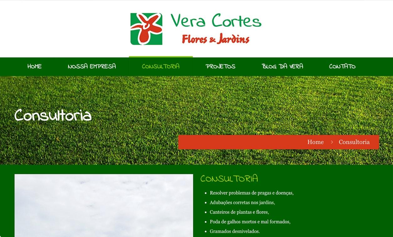 Web Site Flores e Jardins