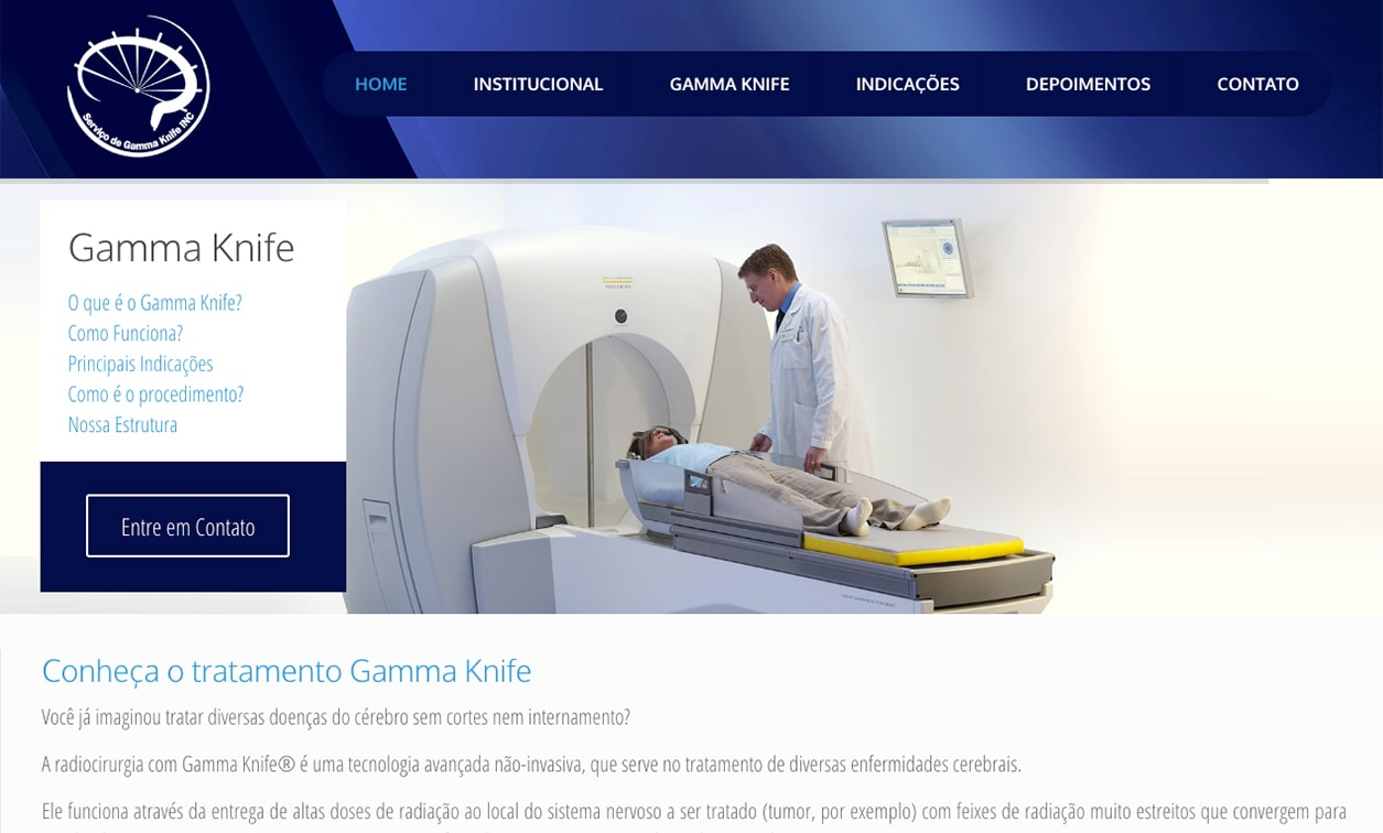 Web Site Gamma Knife