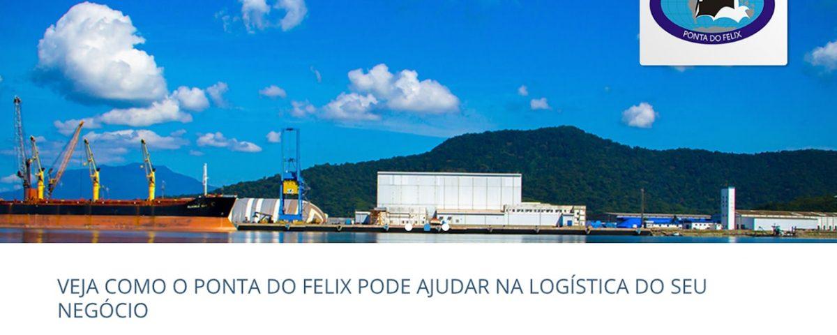 Web Site Ponta do Felix Terminais Portuários