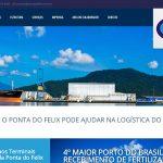 Terminais Portuários da Ponta do Félix em Antonina