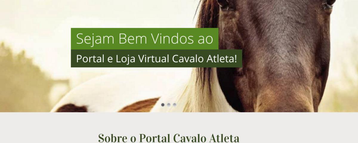 Web Site Cavalo Atleta