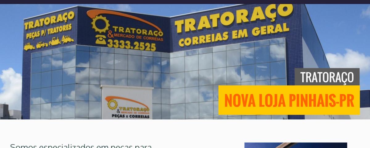 Web Site Tratoraço