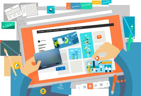 Criação de sites em Curitiba com Design Gráfico